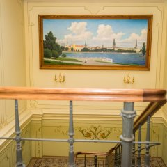 Отель Gallery Park Hotel & SPA, a Châteaux & Hôtels Collection Латвия, Рига - 1 отзыв об отеле, цены и фото номеров - забронировать отель Gallery Park Hotel & SPA, a Châteaux & Hôtels Collection онлайн балкон