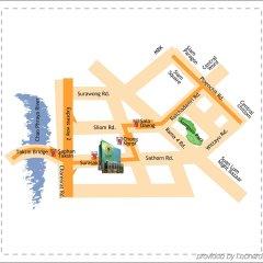 Отель Eastin Grand Hotel Sathorn Таиланд, Бангкок - 10 отзывов об отеле, цены и фото номеров - забронировать отель Eastin Grand Hotel Sathorn онлайн бассейн фото 3