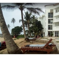 Отель Induruwa Beach Resort пляж фото 2