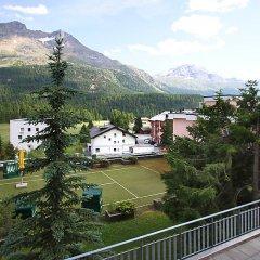 Отель Europa -St. Moritz Швейцария, Санкт-Мориц - отзывы, цены и фото номеров - забронировать отель Europa -St. Moritz онлайн балкон