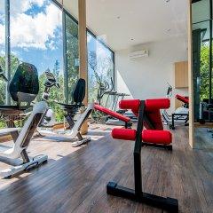 Отель Hill Myna Condotel фитнесс-зал фото 2