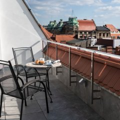 Отель Aparthotel New Lux Вроцлав балкон