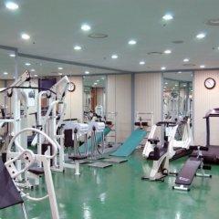 Отель Kensington Hotel Pyeongchang Южная Корея, Пхёнчан - 1 отзыв об отеле, цены и фото номеров - забронировать отель Kensington Hotel Pyeongchang онлайн фитнесс-зал фото 2