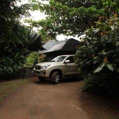 Отель Bom Bom Principe Island парковка