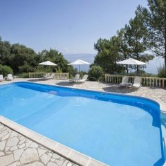Отель Aurora Hotel Греция, Корфу - 1 отзыв об отеле, цены и фото номеров - забронировать отель Aurora Hotel онлайн бассейн фото 2