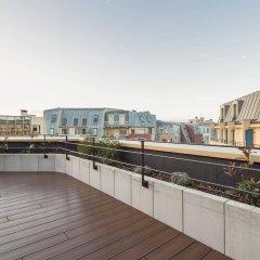 Отель Generator Paris Франция, Париж - 5 отзывов об отеле, цены и фото номеров - забронировать отель Generator Paris онлайн балкон