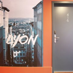 Отель Odalys City Lyon Bioparc Франция, Лион - отзывы, цены и фото номеров - забронировать отель Odalys City Lyon Bioparc онлайн фитнесс-зал