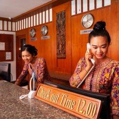Отель Baumancasa Beach Resort интерьер отеля фото 2