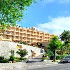 Отель Corfu Palace парковка