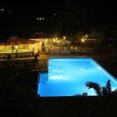 Отель Hilltop Hotel Греция, Ханиотис - отзывы, цены и фото номеров - забронировать отель Hilltop Hotel онлайн бассейн фото 2