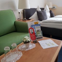 Отель Pension Am Stadtrand Германия, Лейпциг - отзывы, цены и фото номеров - забронировать отель Pension Am Stadtrand онлайн в номере фото 2
