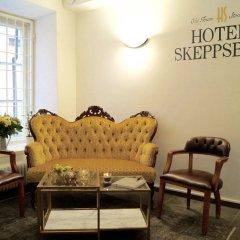 Отель Hotell Skeppsbron Швеция, Стокгольм - отзывы, цены и фото номеров - забронировать отель Hotell Skeppsbron онлайн интерьер отеля фото 2