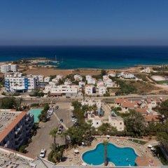 Отель Narcissos Waterpark Resort пляж