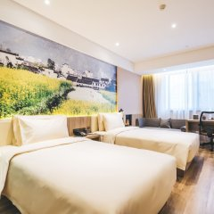 Отель Royal Logoon Hotel - Xiamen Китай, Сямынь - отзывы, цены и фото номеров - забронировать отель Royal Logoon Hotel - Xiamen онлайн комната для гостей фото 5