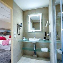 Отель Best Western Saphir Lyon Франция, Лион - отзывы, цены и фото номеров - забронировать отель Best Western Saphir Lyon онлайн ванная