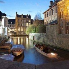 Отель Bourgoensch Hof Бельгия, Брюгге - 3 отзыва об отеле, цены и фото номеров - забронировать отель Bourgoensch Hof онлайн балкон