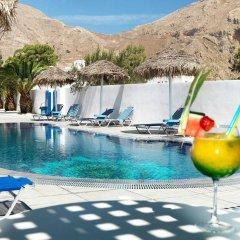 Отель Villa Valvis Греция, Остров Санторини - отзывы, цены и фото номеров - забронировать отель Villa Valvis онлайн бассейн фото 2