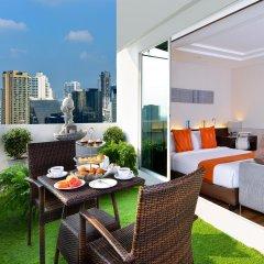 Отель Centre Point Pratunam Бангкок балкон