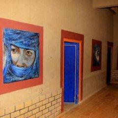 Отель La Gazelle Bleue Марокко, Мерзуга - отзывы, цены и фото номеров - забронировать отель La Gazelle Bleue онлайн интерьер отеля фото 3