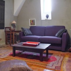 Апартаменты Apartment With 2 Bedrooms in Saumur, With Wonderful City View and Wifi Сомюр комната для гостей фото 2