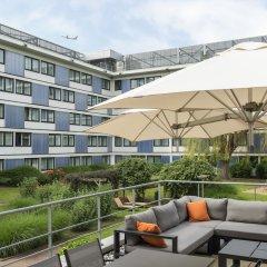 Отель Novotel Brussels Airport Бельгия, Диегем - 1 отзыв об отеле, цены и фото номеров - забронировать отель Novotel Brussels Airport онлайн балкон