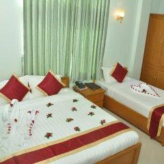 Отель Golden Kinnara Hotel Мьянма, Лашио - отзывы, цены и фото номеров - забронировать отель Golden Kinnara Hotel онлайн комната для гостей фото 5