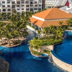 Отель Fiesta Americana Condesa Cancun - Все включено Мексика, Канкун - отзывы, цены и фото номеров - забронировать отель Fiesta Americana Condesa Cancun - Все включено онлайн бассейн фото 3