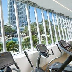 Отель Fontainebleau Miami Beach фитнесс-зал