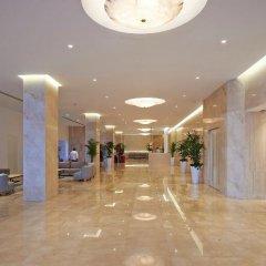 Отель Sunrise Beach Hotel Кипр, Протарас - 5 отзывов об отеле, цены и фото номеров - забронировать отель Sunrise Beach Hotel онлайн интерьер отеля фото 3