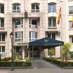 Отель Eurostars Montgomery Брюссель вид на фасад