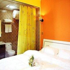 Отель Xiamen Haixi Haibian Holiday Inn сейф в номере