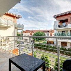 Апартаменты Dom&House-Apartments Neptun Park Premium балкон