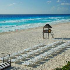 Отель Oasis Cancun Lite пляж фото 2