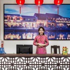 Отель Hoi An Golden Holiday Villa гостиничный бар