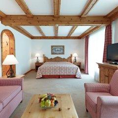 Отель Crystal Hotel superior Швейцария, Санкт-Мориц - отзывы, цены и фото номеров - забронировать отель Crystal Hotel superior онлайн комната для гостей фото 4