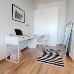 Апартаменты Forenom Serviced Apartments Helsinki Albertinkatu удобства в номере