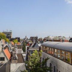 Отель Kuwadro B&B Amsterdam Centrum балкон