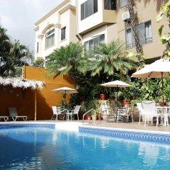 Отель Aparthotel Guijarros Гондурас, Тегусигальпа - отзывы, цены и фото номеров - забронировать отель Aparthotel Guijarros онлайн бассейн фото 3