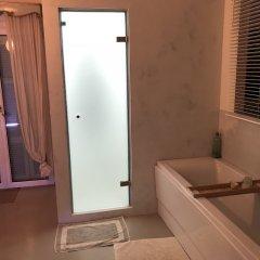 Отель Luxury Apartment Sea View Garden Parking Греция, Корфу - отзывы, цены и фото номеров - забронировать отель Luxury Apartment Sea View Garden Parking онлайн ванная