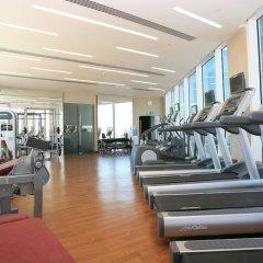 Отель Yas Island Rotana фитнесс-зал фото 4