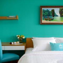 Отель SiRi Ratchada Bangkok Таиланд, Бангкок - отзывы, цены и фото номеров - забронировать отель SiRi Ratchada Bangkok онлайн комната для гостей фото 4