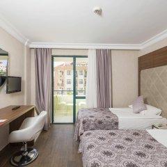 Grand Seker Hotel Турция, Сиде - 1 отзыв об отеле, цены и фото номеров - забронировать отель Grand Seker Hotel - All Inclusive онлайн комната для гостей