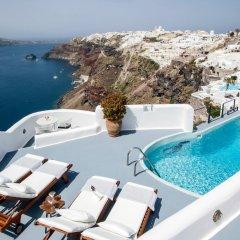 Отель Ikies Traditional Houses Греция, Остров Санторини - 1 отзыв об отеле, цены и фото номеров - забронировать отель Ikies Traditional Houses онлайн бассейн