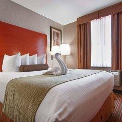 Отель Best Western Kennedy Airport США, Нью-Йорк - 1 отзыв об отеле, цены и фото номеров - забронировать отель Best Western Kennedy Airport онлайн комната для гостей фото 4
