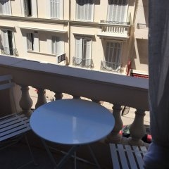 Апартаменты MIR1 - Studio avec balcon vue mer latérale балкон