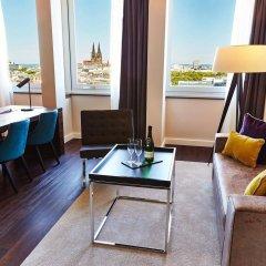 Отель Steigenberger Hotel Koln Германия, Кёльн - 1 отзыв об отеле, цены и фото номеров - забронировать отель Steigenberger Hotel Koln онлайн комната для гостей фото 5