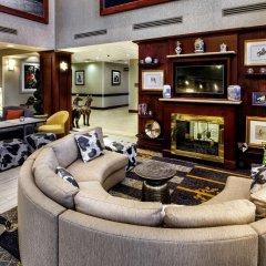 Отель Hampton Inn & Suites Staten Island США, Нью-Йорк - отзывы, цены и фото номеров - забронировать отель Hampton Inn & Suites Staten Island онлайн интерьер отеля