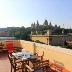 Отель Montjuic Fountains Испания, Барселона - отзывы, цены и фото номеров - забронировать отель Montjuic Fountains онлайн балкон