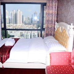 Отель Shengang Apartment Shenzhen Yuhedi Branch Китай, Шэньчжэнь - отзывы, цены и фото номеров - забронировать отель Shengang Apartment Shenzhen Yuhedi Branch онлайн комната для гостей фото 5