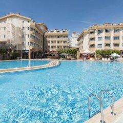 Grand Seker Hotel Турция, Сиде - 1 отзыв об отеле, цены и фото номеров - забронировать отель Grand Seker Hotel - All Inclusive онлайн бассейн фото 3